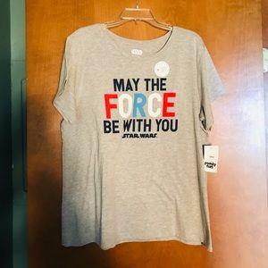 Disney Star Wars T-shirts,, 3 sizes